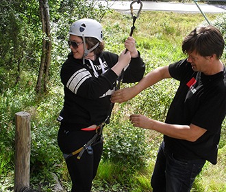 Teambuilding at BiT Bible College in Norway