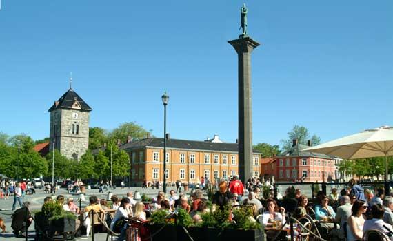 Trondheim city center